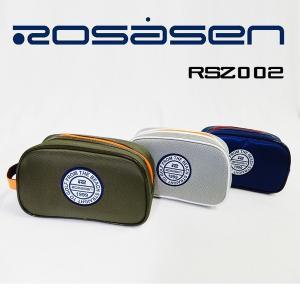 ポーチ ROSASEN ロサーセン 2017年モデル RSZ002 カーキ ネイビー シルバー|golfolympic