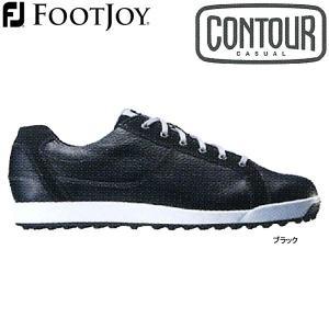 【17年モデル】フットジョイ スパイクレス ゴルフシューズ コンツアーカジュアル (Men's) 54047 (ブラック) 横幅(ウィズ)/W FOOTJOY CONTOUR CASUAL|golfolympic