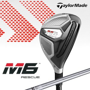 【先行予約】テーラーメイド M6  エムシックス レスキュー ユーティリティ REAX85 JP スチールシャフト Taylormade 日本正規品 2019|golfolympic