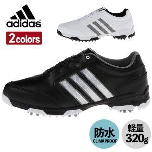 アディダス adidas ゴルフ シューズ メンズ PURE360 Lite NWP ピュア360 スパイク 防水 軽量 Q448