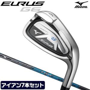 ミズノ アイアン EURUS G6 ユーラス ゴルフ メンズ 7本 #6-PW 50° 56° EX...