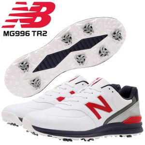 ニューバランス ゴルフ シューズ ソフトスパイク MG996 TR2 REVLITE  防水 SL-...