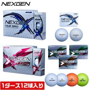 ネクスジェン ゴルフ NEXGEN ボール D SPEC TOUR SPEC 1ダース 12球入り NEXGEN GOLFPARTNER