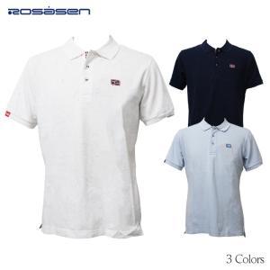店頭展示品 ロサーセン ゴルフ カラーネップカノコ 半袖ポロシャツ 044-27342 Rosasen