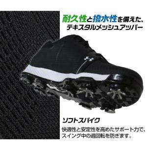 アンダーアーマー UNDER ARMOUR ゴルフ ゴルフシューズ ソフトスパイク 合成皮革 1288576