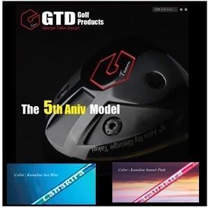 【大人気】GTD The 5th Aniv.ドライバー  LANAKIRA  ラナキラ(カラー:サンセットピンクorシーブルー)5周年記念モデル|golfplaza72
