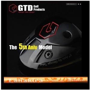 【大人気】GTD The 5th Aniv.ドライバー ラナキラ カナロア(限定カラー:メタリックオレンジ)5周年記念モデル|golfplaza72