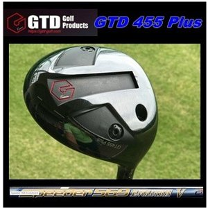 【送料無料】GTD 455 Plusドライバー SPEEDER EVOLUTION 5   スピーダーエボリューション5 GTD455 プラスドライバー|golfplaza72