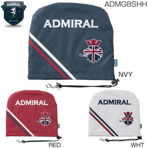 アドミラル ゴルフ パンチング アイアンカバー ADMG8S...