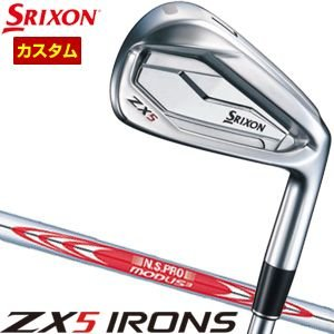 スリクソン ZX5 アイアン N.S.PRO MODUS3 TOUR105 シャフト 5本セット[#...