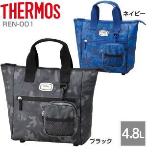 サーモス 保冷 ラウンドトートバッグ REN-001 THERMOS ゴルフ用品 ゴルフバッグ ラウ...