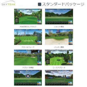 スカイトラック ゴルフシミュレーションPC版 SkyTrak スタンダードパッケージ(ソフト) 日本...