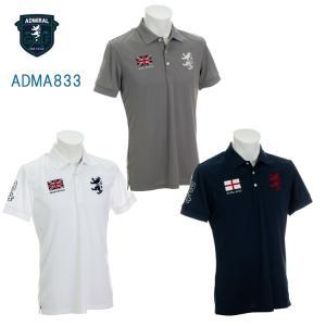 【即納】アドミラル ADMA833 フラッグポロシャツ 日本正規品|golfshop-champ