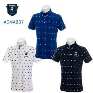 【即納】アドミラル ADMA937 総柄アイコン BDシャツ 日本正規品|golfshop-champ