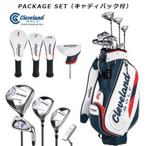 クリーブランド メンズ パッケージセット キャディバック付 11本セット|golfshop-champ