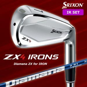 【2021年3月20日発売】ダンロップ スリクソン ZX4 アイアン 6本セット(#5-9,PW) Diamana ZX for IRON カーボンシャフト 日本正規品 zx42021|golfshop-champ
