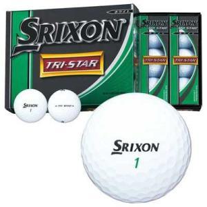 ダンロップ SRIXON TRI-STAR ボール 1ダース(12個入り)