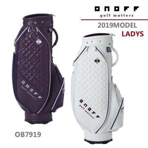 【2019年モデル】オノフ ONOFF キャディバッグ Caddie Bag OB7919 LADYS golfshop-champ