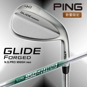 【数量限定】ピンゴルフ GLIDE グライド フォージド ウェッジ N.S.PRO 950GH ne...