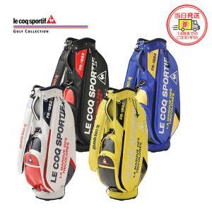 ルコック スポルティフ ゴルフ ロゴデザイン エナメル キャディバッグ QQBPJJ08 golfshop-champ