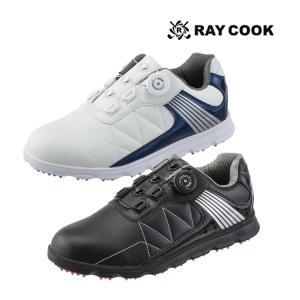 レイクック RCGS1800 メンズ ダイヤル式 スパイクレス ゴルフシューズ|golfshop-champ