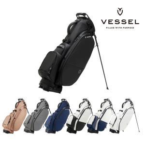 VESSEL ベゼル Player2.0 Stand Double Strap プレイヤー2.0スタンドキャディーバッグ ダブルストラップ 8530119 日本正規品 2020 golfshop-champ