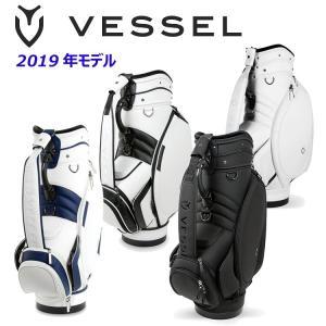 【2019年モデル】VESSEL ベゼル キャディバッグ CADDY BAG ゴルフ オリジナルスタ...
