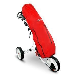 クリックギアカート用 レインカバー (赤)|golfshoplb