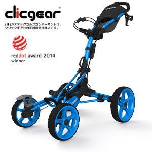 クリックギア モデル8.0 プッシュカート (ブルー)|golfshoplb
