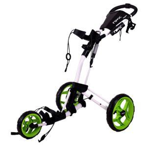 クリックギア RV2L プッシュカート (ホワイト/ライム)|golfshoplb