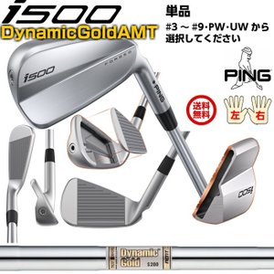 ピン i500アイアン ダイナミック・ゴールド AMT スチールシャフトDynamic Gold AMT 公認フィッターが対応いたします。 左右有 日本正規品|golfshoplb