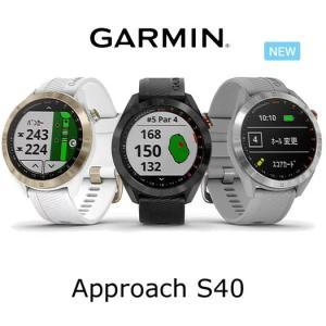 ガーミン Approach S40【アプローチ エス40】ゴルフGPS 時計型ウォッチナビ