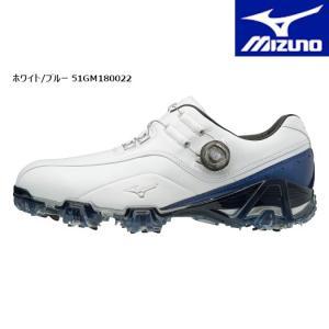 (セール)MIZUNO ミズノ ゴルフ ジェネム ボア(51GM1800) メンズ ゴルフシューズ