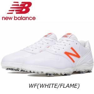 (セール)ニューバランス ゴルフシューズ 【MG996】WF(WHITE/FLAME)