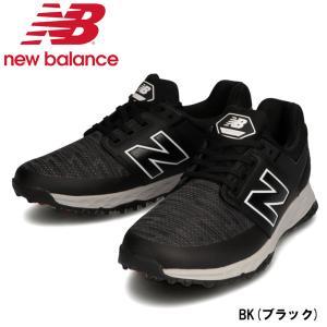 ニューバランス ゴルフシューズ (MG4100) メンズ スパイクレス BK(ブラック) 2020秋...