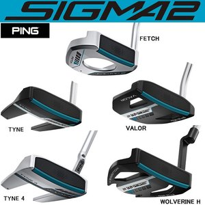 (長さ調整機能付) PING PING SIGMA2 PUTTER ピンパター PP62(ブラック/...