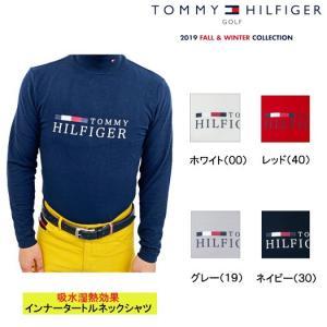2019秋冬 新作 トミーヒルフィガーゴルフ インナー タートル長袖シャツ【THMA976】メンズ