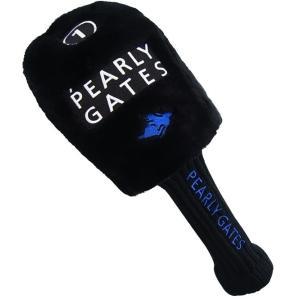 【NEW】パーリーゲイツブラックツアートーナメントシリーズドライバー用ヘッドカバー 053-6984301 BK-S 【郵送料無料】