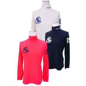 【NEW】PEARLY GATES パーリーゲイツ レディス サーモギアベア天竺モックシャツ =JAPAN MADE= 055-8166102/17D|golfwaveonline2
