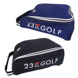 【NEW】ONWARD(オンワード)23区GOLFメンズ エンボス千鳥シューズケース【BO1PHW-0441】【送料無料】 golfwaveonline