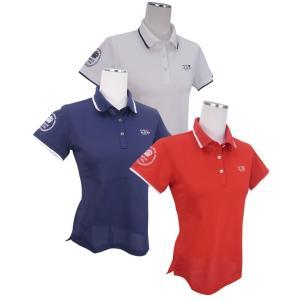 【NEW】ONWARD(オンワード)23区GOLFレディス 【UV/吸水速乾】定番半袖ポロシャツ【KHVLYM-0908】=Made in Japan=|golfwaveonline