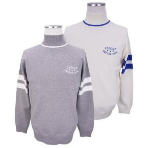 【NEW】ONWARD(オンワード)23区GOLF メンズ SNOWYニット ハイネックシャツ【KRVTYS-0101】|golfwaveonline