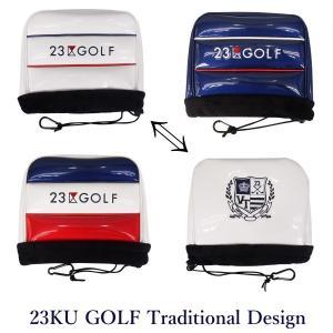 【PREMIUM SALE】23区ゴルフ ツアートラディショナル・アイアンカバー【ZZ1PKW-08...