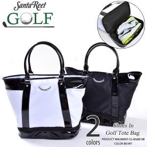 ゴルフゴルフバッグトートバッグ PUゴルフ用品 シューズ収納COMONGOLFコモンゴルフ シューズ収納付きPUゴルフトートバッグ CG-BG68108|golfwear