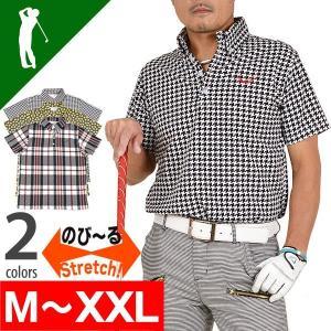 メンズウェアポロシャツメンズ 肉厚鹿の子素材ボタンダウン半袖ゴルフポロシャツ CG-SP602|golfwear