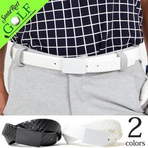 ゴルフベルト メンズ PU ゴルフウェア 合成皮革 スクエアバックルブロック型押しPUゴルフベルト 大人 春夏新作 2017 IF-BT1709|golfwear