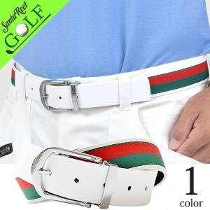 ゴルフベルト メンズ PU ゴルフウェア 合成皮革 キャンバス サイズ調整可能 おおきいサイズ イタリアンタイプPUゴルフベルト 大人 2017 IF-BT1714|golfwear
