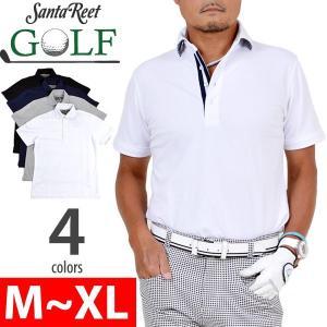 ゴルフポロシャツゴルフシャツ定番ススポーツウェアメンズカジュアルゴルフウェアー半袖 デュエボタン鹿の子素材ゴルフポロシャツ PV-6101001|golfwear