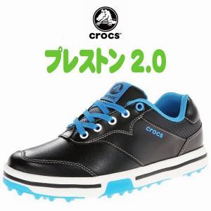 クロックス プレストン (crocs preston)2.0 15160 スパイクレスゴルフシューズ