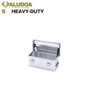 アルミニ コンテナボックス  ALUDOA HEAVY-DUTY Sサイズ キャンプ アウトドア インテリア 収納 golgoda